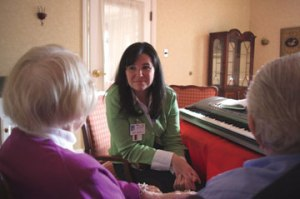Lacy Kidwell, Gilchrist Hospice Care Music Therapist